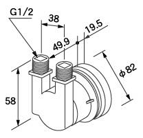 【全品送料無料】【0705092】ノーリツ 給湯器 関連部材 循環アダプターHX 循環アダプター HX-F 20P (20個入)