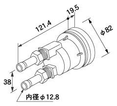 【全品送料無料】【0705088】ノーリツ 給湯器 関連部材 循環アダプターHX 循環アダプター HX-SS 20P (20個入)