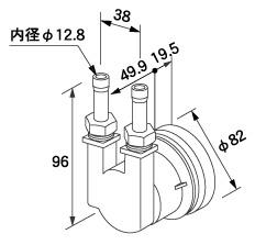 【0705089】ノーリツ 給湯器 関連部材 循環アダプターHX 循環アダプター HX-TL 20P (20個入)