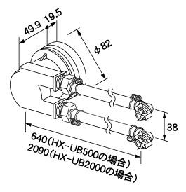 【全品送料無料】【0704972】ノーリツ 給湯器 関連部材 循環アダプターHX 循環アダプター HX-UB2000