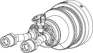 ノーリツ[NORITZ] 循環アダプターMB2 【MB2-1-SF】 ガス給湯器 関連部材 品コード:[0707491]