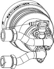 ノーリツ[NORITZ] 循環アダプターMB2 【MB2-1-FR】 ガス給湯器 関連部材 品コード:[0707493]