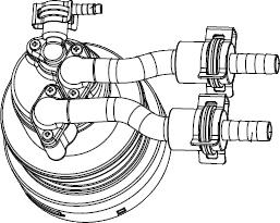 ノーリツ[NORITZ] 循環アダプターMB2 【MB2-1-JL】 ガス給湯器 関連部材 品コード:[0707495]