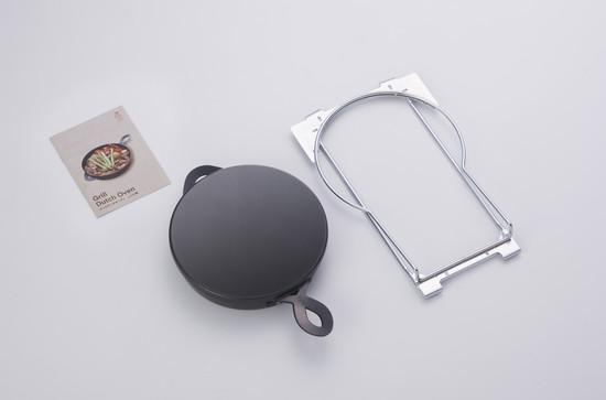 【PGD-5】paloma 調理サポートツール シンプルグリル ダッチオーブンセット [新品]