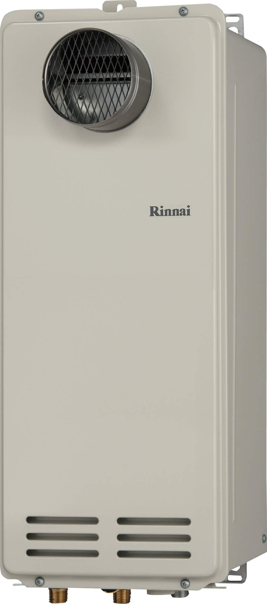 Rinnai[リンナイ] ガス給湯器 RUX-VS1606T(A) ガス給湯専用機 16号 ふろ機能:給湯専用 BL有 接続口径:20A 設置:扉内 品名コード:23-0727