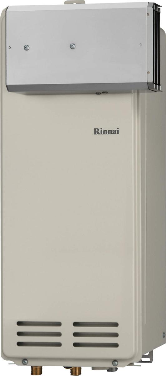 Rinnai[リンナイ] ガス給湯器 RUX-VS1606A(A) ガス給湯専用機 16号 ふろ機能:給湯専用 BL有 接続口径:20A 設置:アルコーブ 品名コード:23-0735