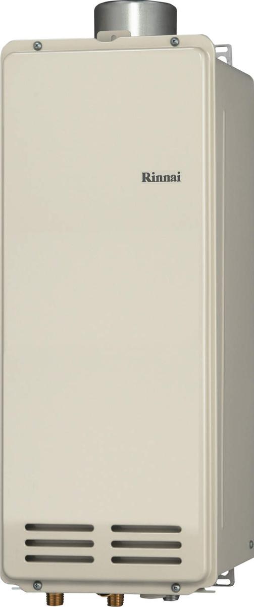 Rinnai[リンナイ] ガス給湯器 RUX-VS1606U(A)-E ガス給湯専用機 16号 ふろ機能:給湯専用 BL無 接続口径:20A 設置:上方 品名コード:23-0956