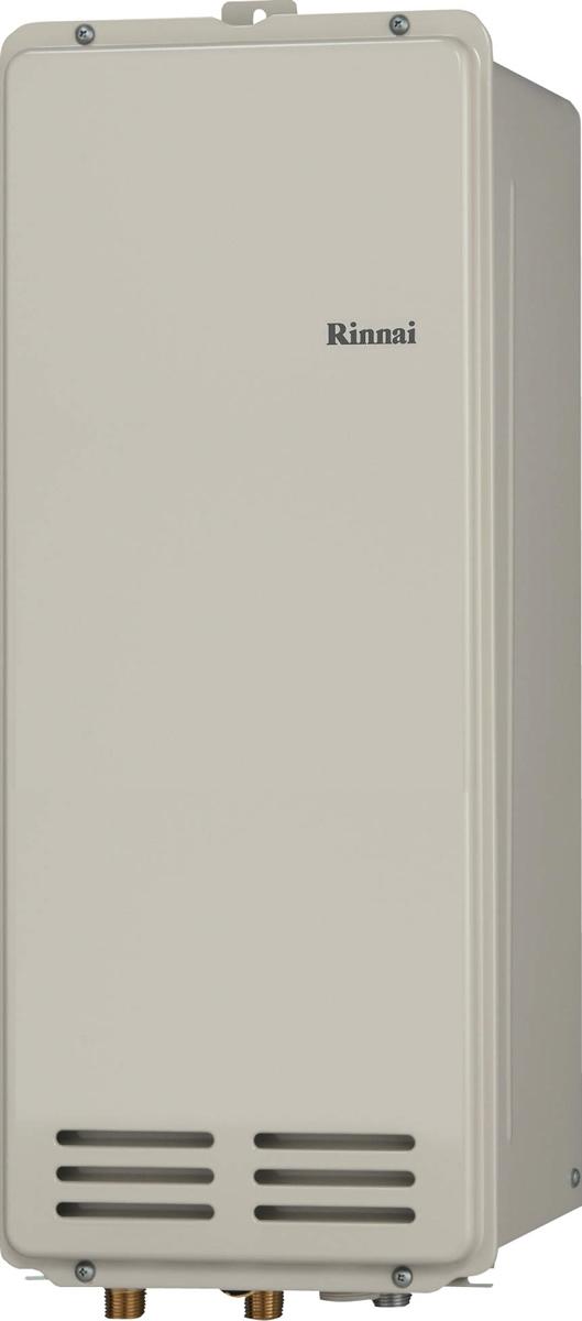 Rinnai[リンナイ] ガス給湯器 RUX-VS2006B(A)-E ガス給湯専用機 20号 ふろ機能:給湯専用 BL無 接続口径:20A 設置:後方 品名コード:23-1049