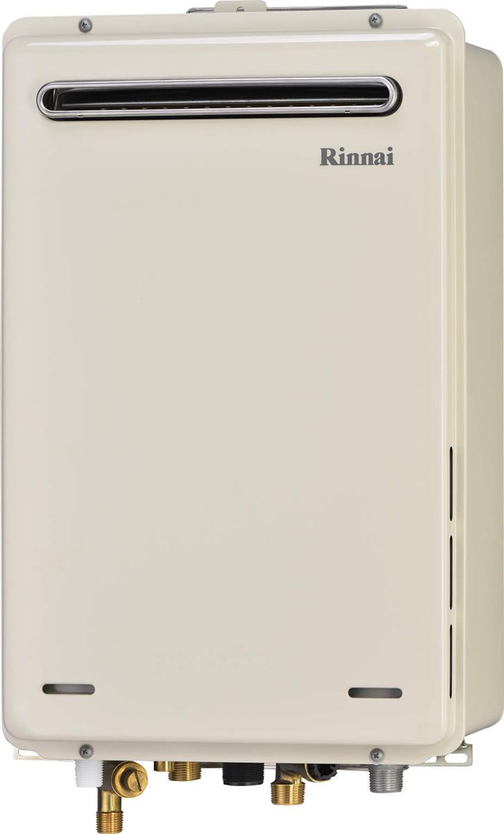 Rinnai[リンナイ] ガス給湯器 RUJ-A2400W 高温水供給式タイプ 24号 ふろ機能:高温水供給式 BL有 接続口径:20A 設置:標準 品名コード:23-9545