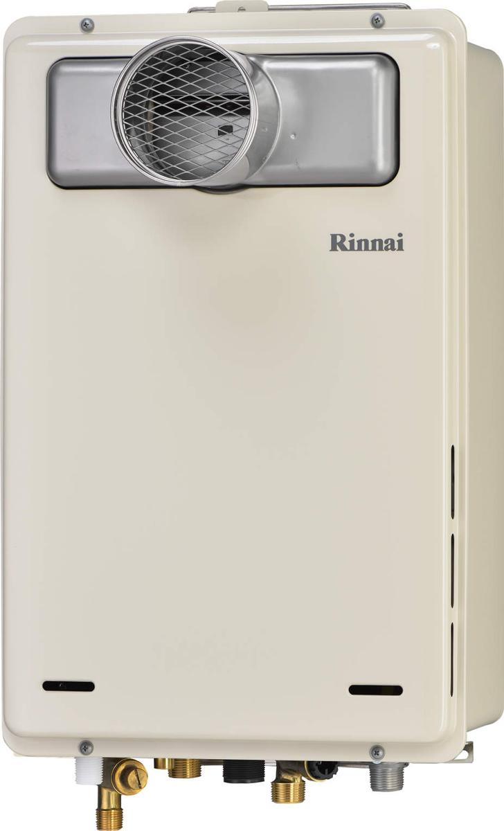 Rinnai[リンナイ] ガス給湯器 RUJ-A2400T 高温水供給式タイプ 24号 ふろ機能:高温水供給式 BL有 接続口径:20A 設置:扉内 品名コード:23-9553