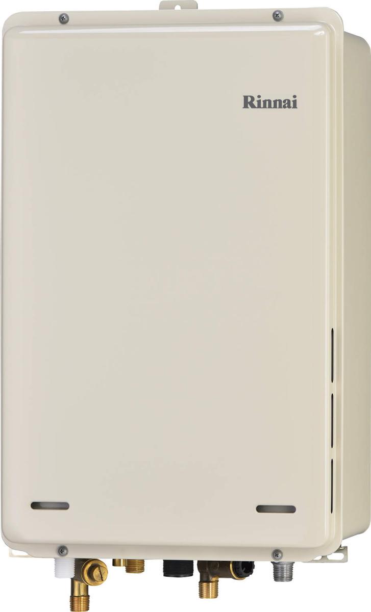 Rinnai[リンナイ] ガス給湯器 RUJ-A2010B-80 高温水供給式タイプ 20号 ふろ機能:高温水供給式 BL有 接続口径:15A 設置:80後方 品名コード:23-9642