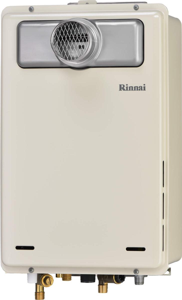 Rinnai[リンナイ] ガス給湯器 RUJ-A1610T-L 高温水供給式タイプ 16号 ふろ機能:高温水供給式 BL有 接続口径:15A 設置:扉内延長 品名コード:23-9758