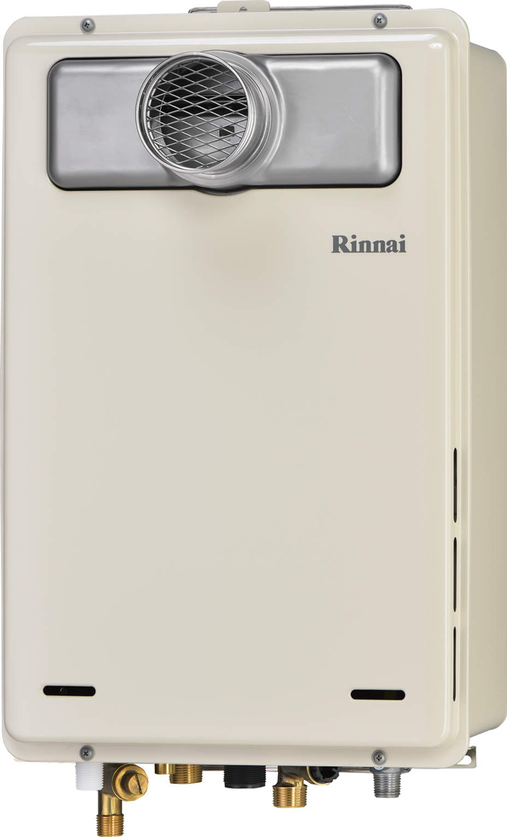 Rinnai[リンナイ] ガス給湯器 RUJ-A1600T 高温水供給式タイプ 16号 ふろ機能:高温水供給式 BL有 接続口径:20A 設置:扉内 品名コード:23-9790