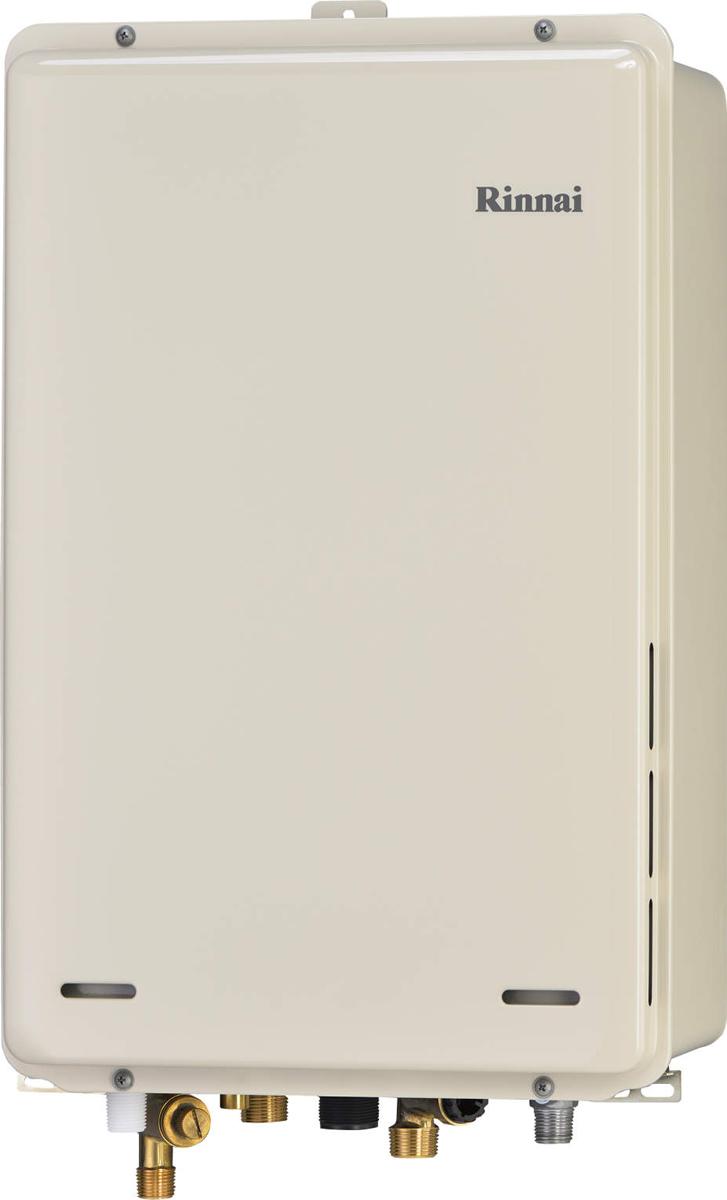 Rinnai[リンナイ] ガス給湯器 RUJ-A1600B 高温水供給式タイプ 16号 ふろ機能:高温水供給式 BL有 接続口径:20A 設置:後方 品名コード:23-9812