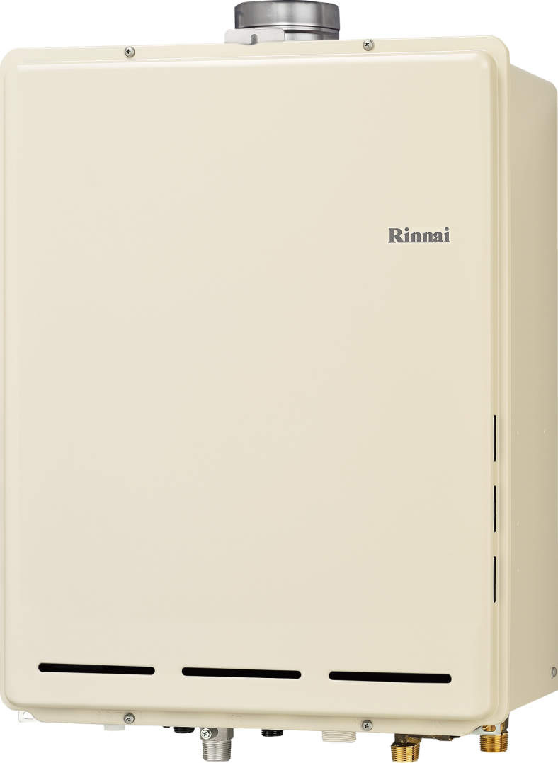 Rinnai[リンナイ] ガス給湯器 RUF-A1615SAU(B) ガスふろ給湯器 設置フリータイプ 16号 ふろ機能:セミオート 接続口径:15A 設置:上方 品名コード:24-0923【全品送料無料】【沖縄・北海道・離島は送料別途必要です】