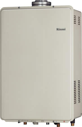 Rinnai[リンナイ] ガス給湯器 RUF-V1615AFFD(C) ガスふろ給湯器 設置フリータイプ 16号 ふろ機能:フルオート 接続口径:15A 設置:FF 品名コード:24-1199