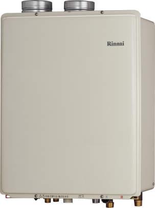 Rinnai[リンナイ] ガス給湯器 RUF-V2005SAFFCH ガスふろ給湯器 設置フリータイプ 20号 ふろ機能:セミオート 接続口径:20A 設置:寒冷地FF 品名コード:24-1288
