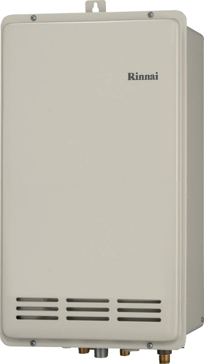 Rinnai[リンナイ] ガス給湯器 RUF-VK2010SAB-L(B) ガスふろ給湯器 設置フリータイプ 20号 ふろ機能:セミオート 接続口径:15A 設置:アルコーブ 品名コード:24-1407