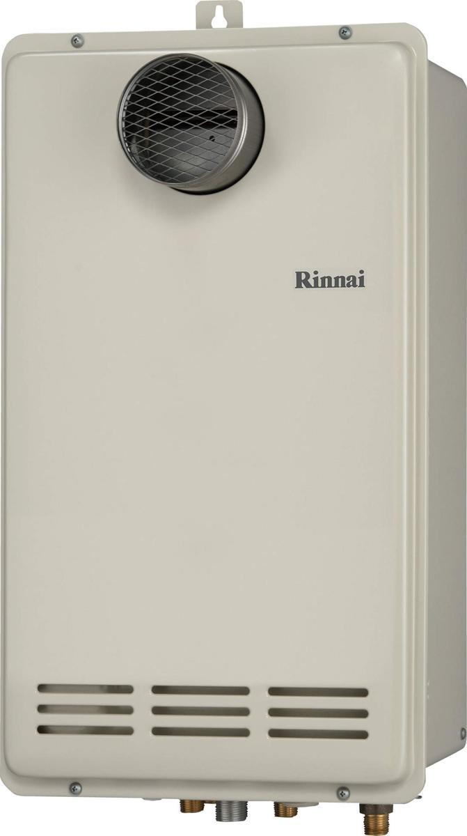 Rinnai[リンナイ] ガス給湯器 RUF-VK1610SAT(B) ガスふろ給湯器 設置フリータイプ 16号 ふろ機能:セミオート 接続口径:15A 設置:扉内 品名コード:24-1466