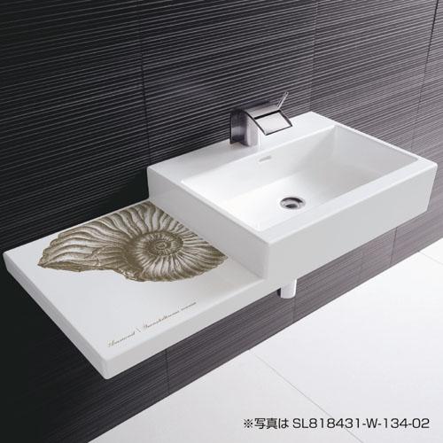三栄水栓 デザイン水栓シリーズ 洗面器 【SL818431-W-134-09】 LAUFEN【水栓・SANEI】