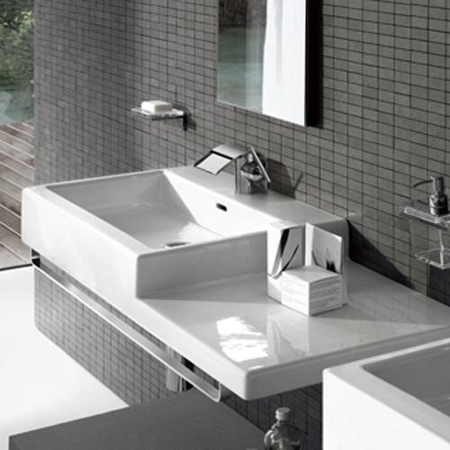 三栄水栓 デザイン水栓シリーズ 洗面器 【SL818432-W-134-05】 LAUFEN【水栓・SANEI】