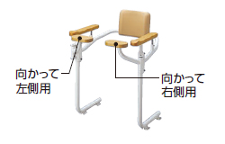TOTO トイレ用手すり(システムタイプ)【EWCP223R】前方ボード【EWCP223R】(向かって右側用) 【セルフリノベーション】