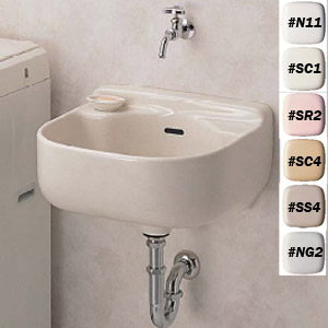 【SK500・壁排水金具セット(Pトラップ)】TOTOマルチシンク(小形)壁排水金具セット 【セルフリノベーション】