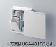 TOTO トイレ アクセサリー 【UGA431LS】 足元収納コンパクトタイプ(埋込あり) レストルームドレッサー スリムタイプC用 【UGA431LS#NW1、#ML、#MW】 TOTO[トートー]