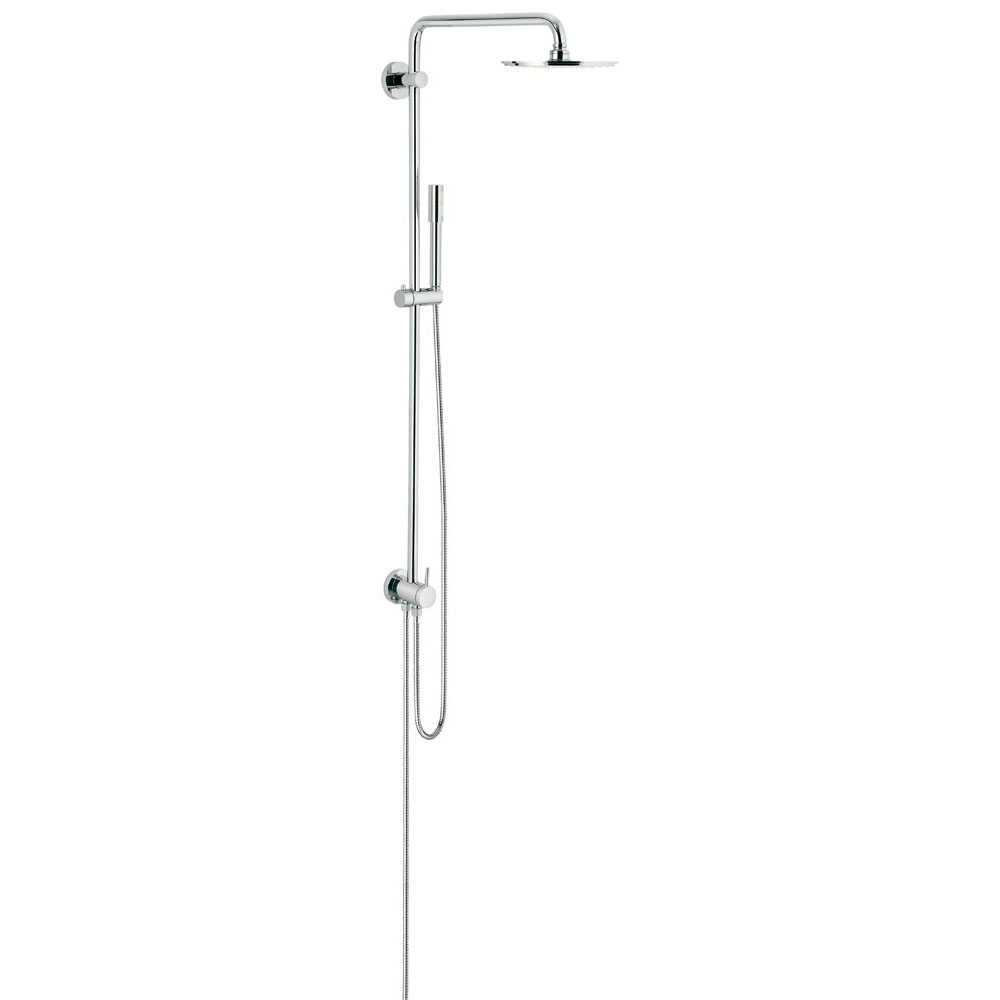 GROHE[グローエ] シャワーシステム&シャワー 【27 058 00J】 シャワーシステム ダイバーター切替タイプ 【メーカー直送のみ・代引き不可】【沖縄・北海道・離島は送料別途必要です】
