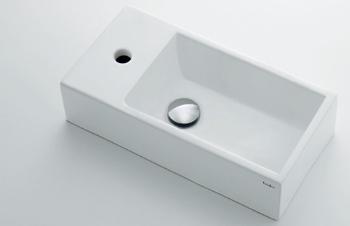 【全品送料無料】カクダイ 壁掛手洗器//Lホール【493-153】[新品]