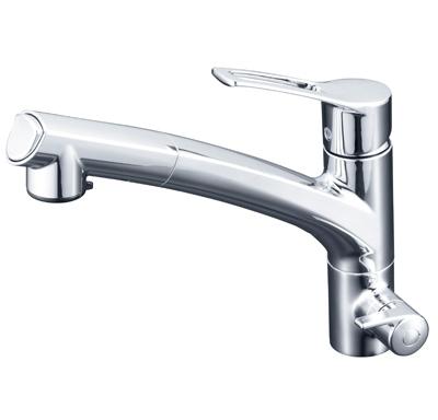 KVK 浄水器専用シングルレバー式シャワー付混合栓 【KM5061NCK】[新品]
