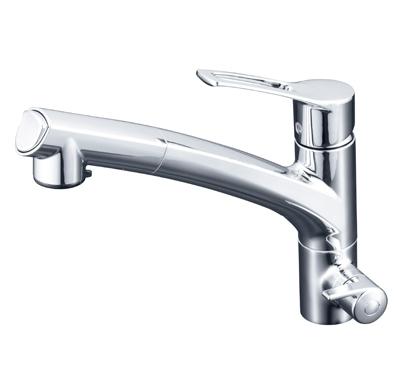 KVK 浄水器付シングルレバー式シャワー付混合栓 【KM5061NSCCK】[新品]