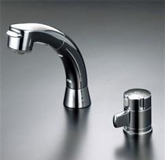 送料込み KVK サーモスタット式洗髪シャワー 【KF125G2N】KF125 series シャワー引出しタイプ/サーモスタットシャワー【KF125G2N】[新品]