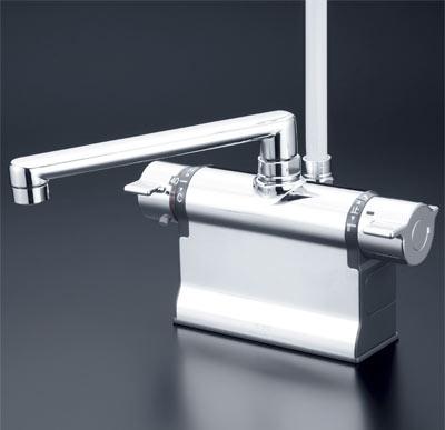 【全品送料無料】KVK 【KF3011ZT】 デッキ形サーモスタット式シャワー 寒冷地[新品]