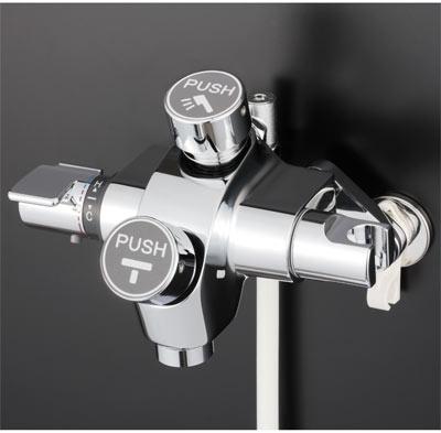 送料込み KVK 自閉式サーモスタット式シャワー シャワー・吐水口両用タイプ【KF3040】[新品]