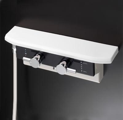 驚きの値段 激安セール KVK KF619R ボックス型サーモスタット式シャワー 新品 シャワー左側取出