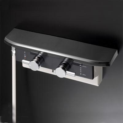 KVK 【KF619LB】 ボックス型サーモスタット式シャワー シャワー右側取出[新品]