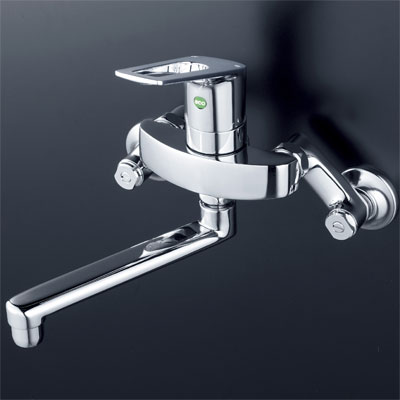 送料込み KVK シングルレバー式混合栓 【KM5000WTEC】キッチン用eレバー水栓series【KM5000WTEC】[新品]