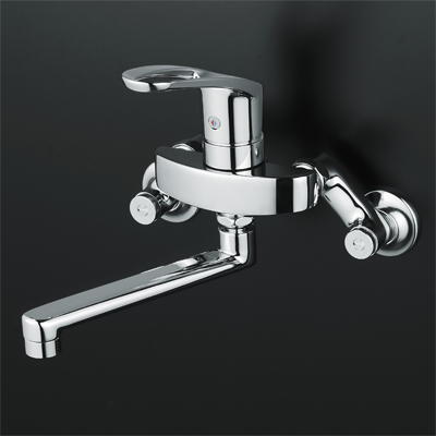 送料込み KVK シングルレバー式混合栓 【KM5000ZT】KM5000T フルメタルseries シングルレバー混合栓【KM5000ZT】[新品]