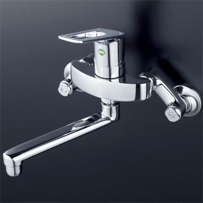 送料込み KVK シングルレバー式混合栓 【KM5000ZTEC】キッチン用eレバー水栓series【KM5000ZTEC】[新品]