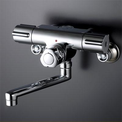 KVK 定量止水付2ハンドル混合栓 お湯ぴた/型2ハンドル混合栓【KM59G】[新品]