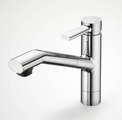 KVK 流し台用シングルレバー式シャワー付混合栓 【KM908Z】【KM908Z】[新品]