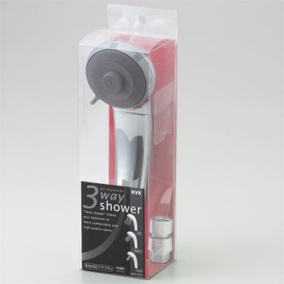 【全品送料無料】KVK 3wayシャワーヘッド 【PZ985】フルメッキシャワーヘッドseries【PZ985】[新品]