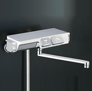 KVK 浴室 【KF3070R2】 ラクダスサーモスタット式シャワー(240mmパイプ付) [新品]