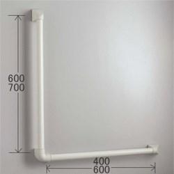 KVK 握りバーL型 700×600mm 【Z95L70-60】握りバー【Z95L7060】[新品]