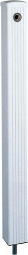 4個セット 上水道関連製品 水栓柱/水栓パン ミカゲシリーズ 80角 HI-16型 80-HI-16X1060ミカゲ Mコード:14405 前澤化成工業