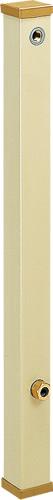 4個セット 上水道関連製品 水栓柱/水栓パン アイボリーシリーズ 60角 12C型 60-12CX900 Mコード:14516 前澤化成工業