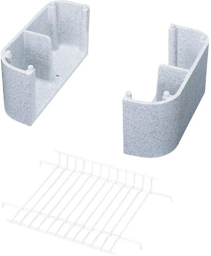 4個セット 上水道関連製品 水栓柱/水栓パン 水栓パン レジコン水栓パン専用台座SPRD SPRD-550 Mコード:14625 前澤化成工業
