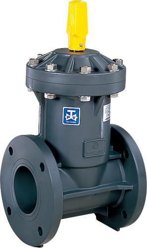 上水道関連製品 ビニベンゲート/バタフライ ビニゲート GA 上水フランジ形 1型 (キャップ式/左開き) GA1-40 Mコード:15025N 前澤化成工業