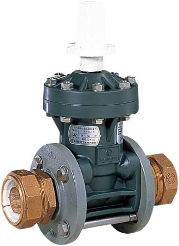 上水道関連製品 ビニベンゲート/バタフライ ビニゲート GP ポリ管受口付 1型 (キャップ式/左開き) GP2-40 Mコード:15136 前澤化成工業